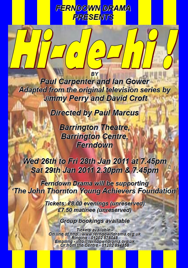 Hi De Hi - January Production